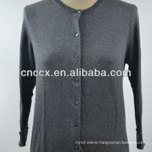 12STC0510 ladies long sleeve cheap cardigan sweater