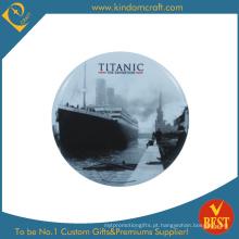 Titanic Imprimido Logo Tin Button Badge em Baixo Preço