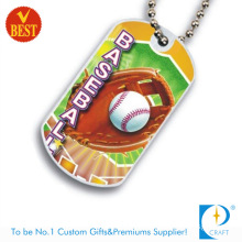 High Quality China Customized Metal Printed Dog Tag at Low Price