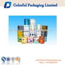 Rollo de película, bolsa de etiquetas retráctil de PVC para proteger el producto