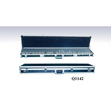 rounded aluminum rifle case with foam inside from China manufacturer good quality