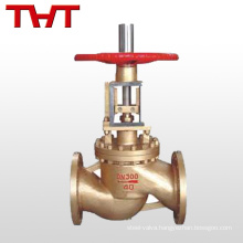 Stainless steel / Brass material flange oxygen globe valve for oxygen