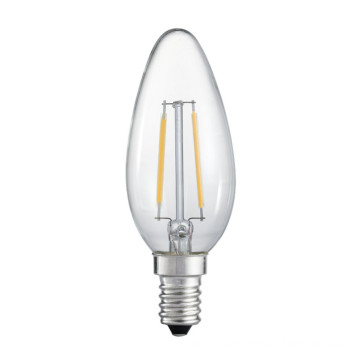 C32 Decoration Candle Bulb LED Filament Bulb with CE Approval