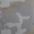Camouflage Printed With Cotton Small Checkered Fabric
