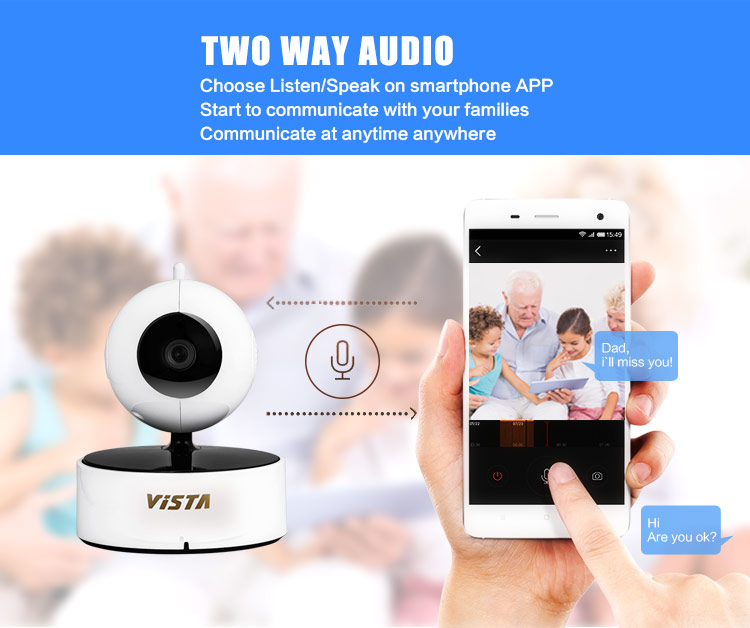 720P Wireless IP Camera