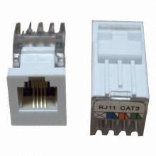 Cat3/Telephone Keystone Jacks for 6p4c of St-Cat3-Kjm