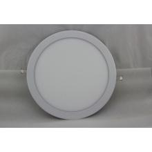 9W AC95-240V branco luz de painel redondo LED