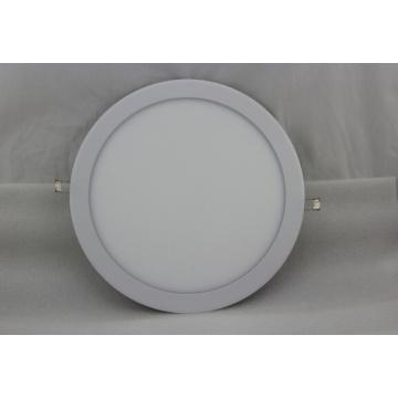 9W AC95-240V LED blanche à panneau rond