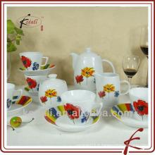 Ensemble de dîner à la porcelaine en céramique à la chinoise à l'usine