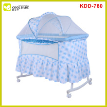 New en1888 luxury design travel system swing crib cradle