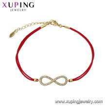 75584 xuping último diseño simple elegante pulsera lindo para niñas en China por mayor