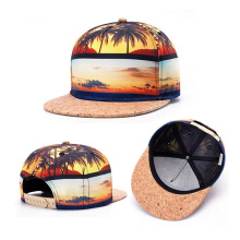 Custom Floral Digital Printing Snapback Hat