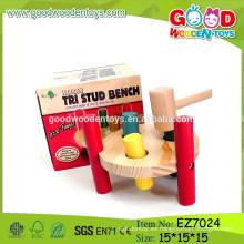 OEM & ODM Juguetes populares de la clavija del martillo, juguetes nuevos del martillo de madera, juguetes del martillo del banco