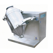 Multi-Directional Motions Powder Mixer untuk Bahan Kimia Farmasi