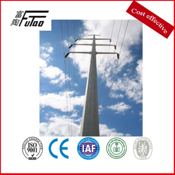10mm Thickness High Voltage Steel Transmission Tower