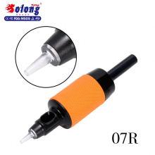Solong G510-7RT 25mm tube de tatouage jetable conseils clairs poignées en caoutchouc de tatouage de 1 pouce