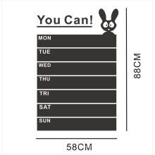 Qualitäts-Qualitäts-Tafel-Vinyltafel-Aufkleber