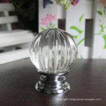 Pumpkin Glass Cabinet Door Handle Pull 30mm Without Lock