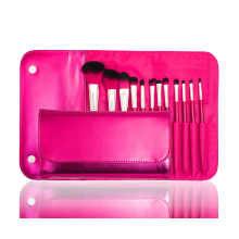 Cepillo cosmético del maquillaje de la fuente directa de la fábrica profesional con el pelo sintético (12PCS)