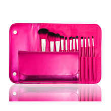 Professional Factory Direct Supply Cosmetic Makeup Brush with Synthetic Hair (12PCS)