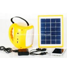 Lâmpada Solar Portátil com Rádio