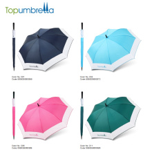 Fabricante de paraguas chino Sombrillas de tamaño grande auto abierto colorido