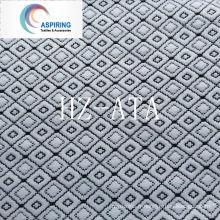 Tissu 100% polyester en tricot jacquard