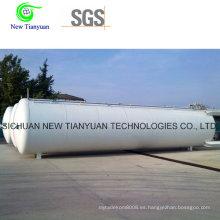 China Proveedor Precio de fábrica 30m3 volumen completo Contenedor de tanque criogénico