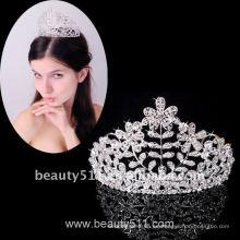 Astergarden Real Foto accesorio de la boda Tiara corona ASJ007
