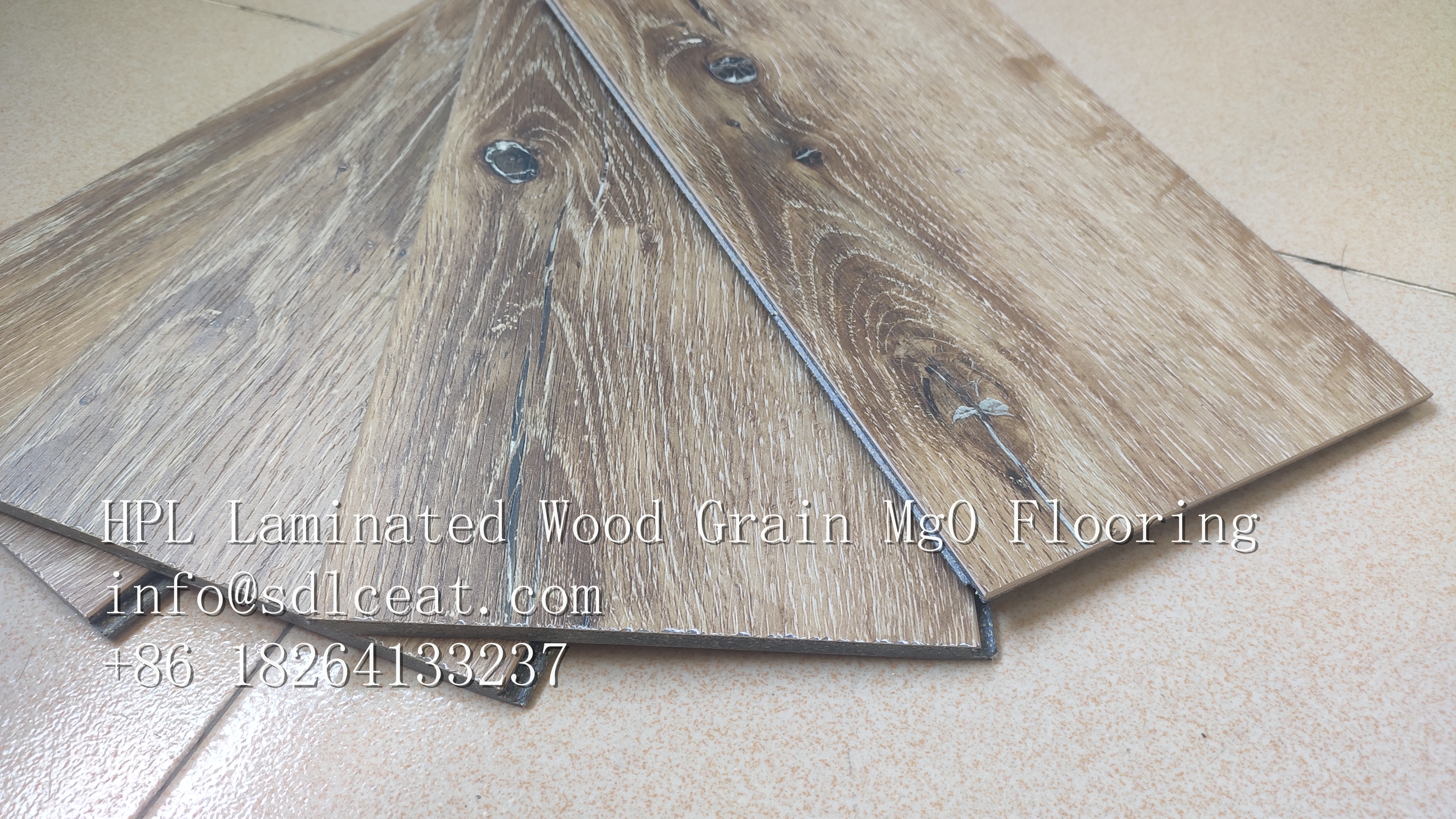 MgO Laminated Flooring Panels