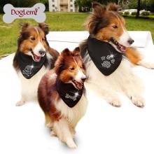 Bandana do cão do lenço do cão de animal de estimação