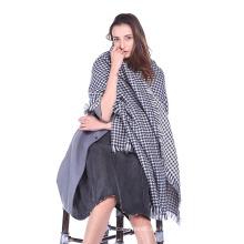 Bufandas de punto: Abrigo de lazo de moda para mujer