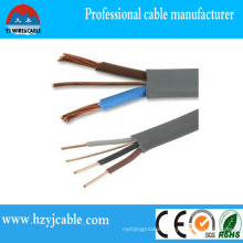 Cost of Electrical BS Standard Grey/Black Sheath Flexible Flat Cable