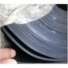 Caoutchouc noir de feuille de NBR de 5mm dans le prix usine