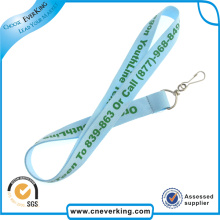 Multi Colors New Trend Polyester Lanyard with J Hook