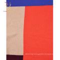 Châle écharpe à carreaux 100% cachemire coloré Mongolie intérieure