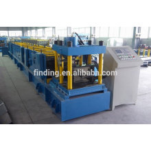 z steel roof purlin profile rolling forming price/auto control c purlin machine
