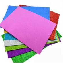 Handwerk Glitter Papier Karton, schwarz Glitzer Kartenpapier
