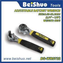 8-Inch Adjustable Ratchet Wrench for Hand Tool