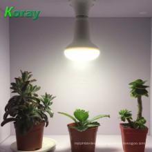 Сид растет свет E27 18 Вт 5 Вт 9 Вт 15 Вт полный спектр привело светать садоводства завода Fitolampa цветущих Гидропоники системы