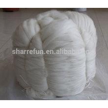 Fourniture d'usine Top 100% Cachemire blanc naturel