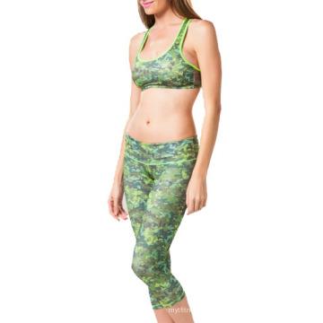 Camoflage Sublimierte Fitnessbekleidung