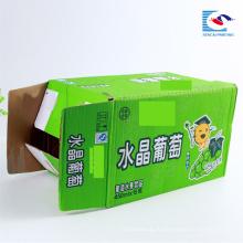 Хорошее качество таможня напечатала рифленые коробки упаковки по 15 бутылок напитков