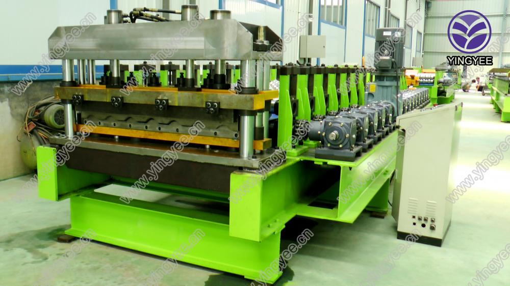 Glazed Roof Roll Forming Machine From Yingyee09