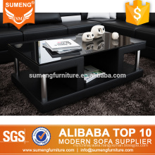 SUMENG furniture glass top coffee table CT63