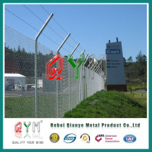 ISO Certificated Galvanized Steel Chain Link Fence