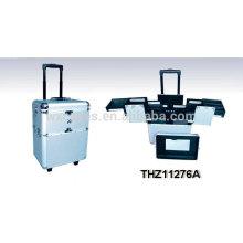 valise trolley maquillage professionnel avec des options de couleur différente