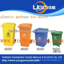 Pingando lixo pode moldar e 2013 plástico Molde de injeção de lixo na taizhou, Zhejiang