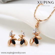 62274-Xuping Elegant Woman Jewelry Set Bisutería