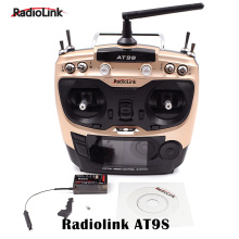 Transmissor RadioLink AT9S do Drone Parts com receptor R9DS